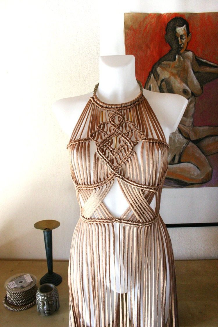 Festival outfit woman, Festival clothing women, Festival outfit boho, Coachella outfit, Burning man clothing, macrame dress, rave outfit