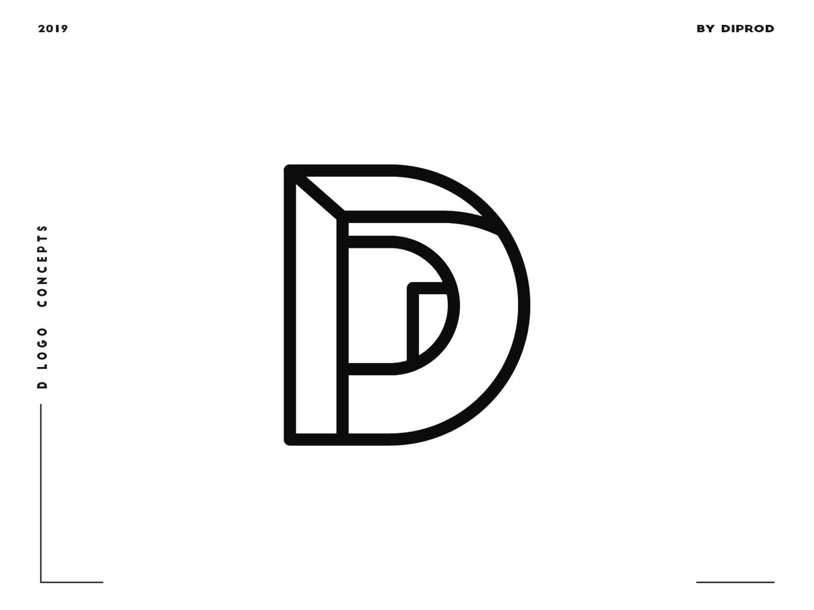 Letter D Logo Design Concept 05