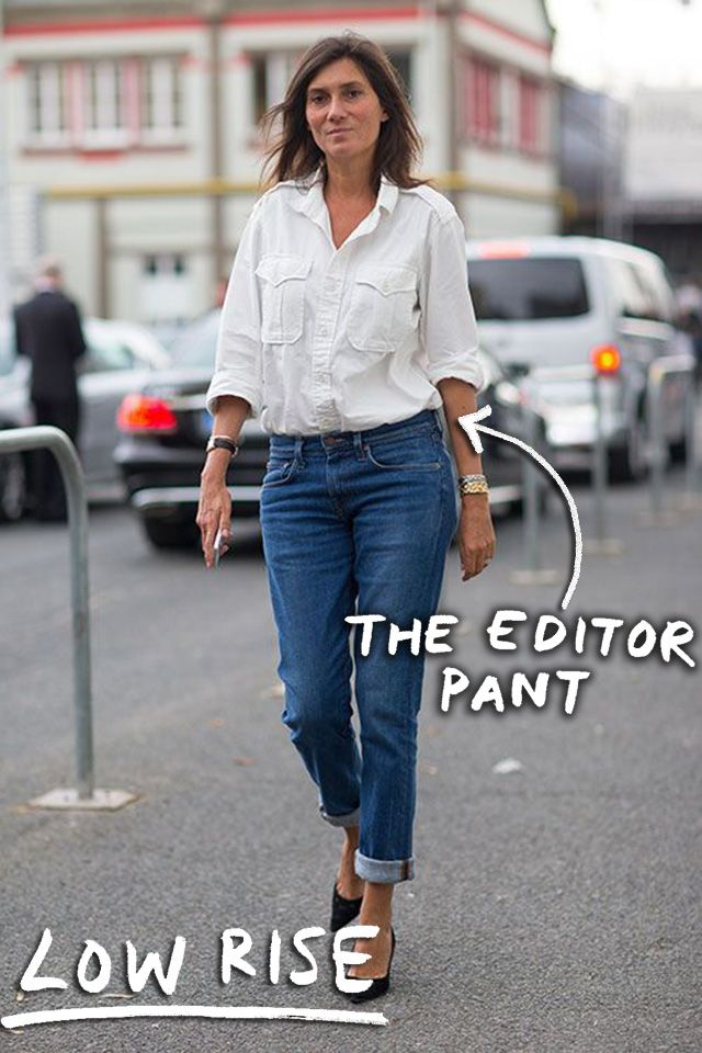The Trajectory Of You As Told By Your Jeans  Emmanuelle Alt Job