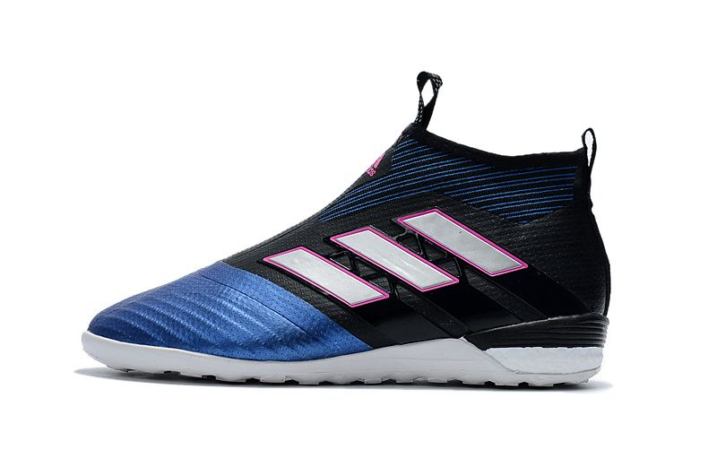 Adidas Ace Tango 17 Purecontrol In Mens Soccer Cleats Indoor Core Black White Blue Sneakers Fashion Fashion Shoes Sneakers White Adidas