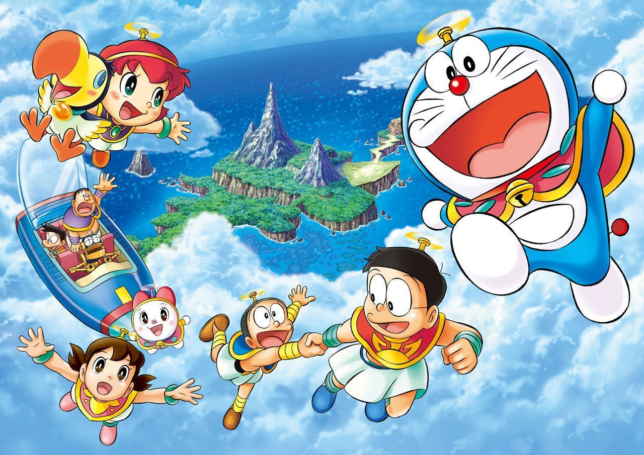Doraemon Hd Wallpapers Backgrounds Wallpaper 1600 1200 Doraemon