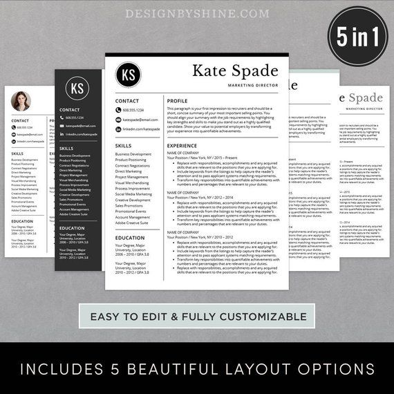 professional resume template    cv template free cover