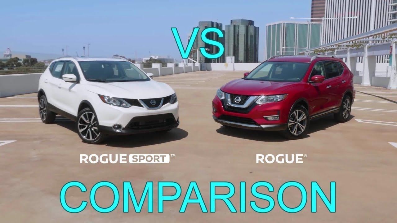 2017 Nissan Rogue vs 2017 Nissan Rogue Sport Comparison