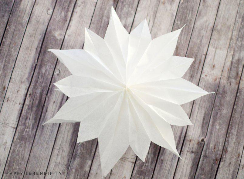 die besten 25 sterne aus butterbrotpapier ideen auf pinterest weihnachtsstern aus. Black Bedroom Furniture Sets. Home Design Ideas
