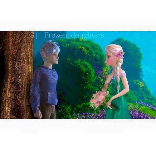 jack and elsa frozen fever   via Tumblr από Overland X   We Heart It