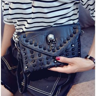 Buy Youshine Studded Envelope Clutch at YesStyle.com! Quality products at remarkable prices. FREE WORLDWIDE SHIPPING on orders over US$35.