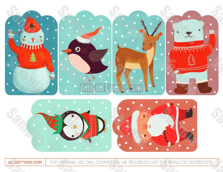Cute Christmas Gift Tags Christmas Gift Tags Printable Cute Christmas Gifts Christmas Gift Tags