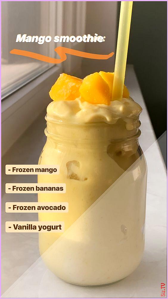 50 super gesunde Smoothie-Rezepte von Instagram  Easy Smoothie Recipe 50 super gesunde Smoothie-Reze...