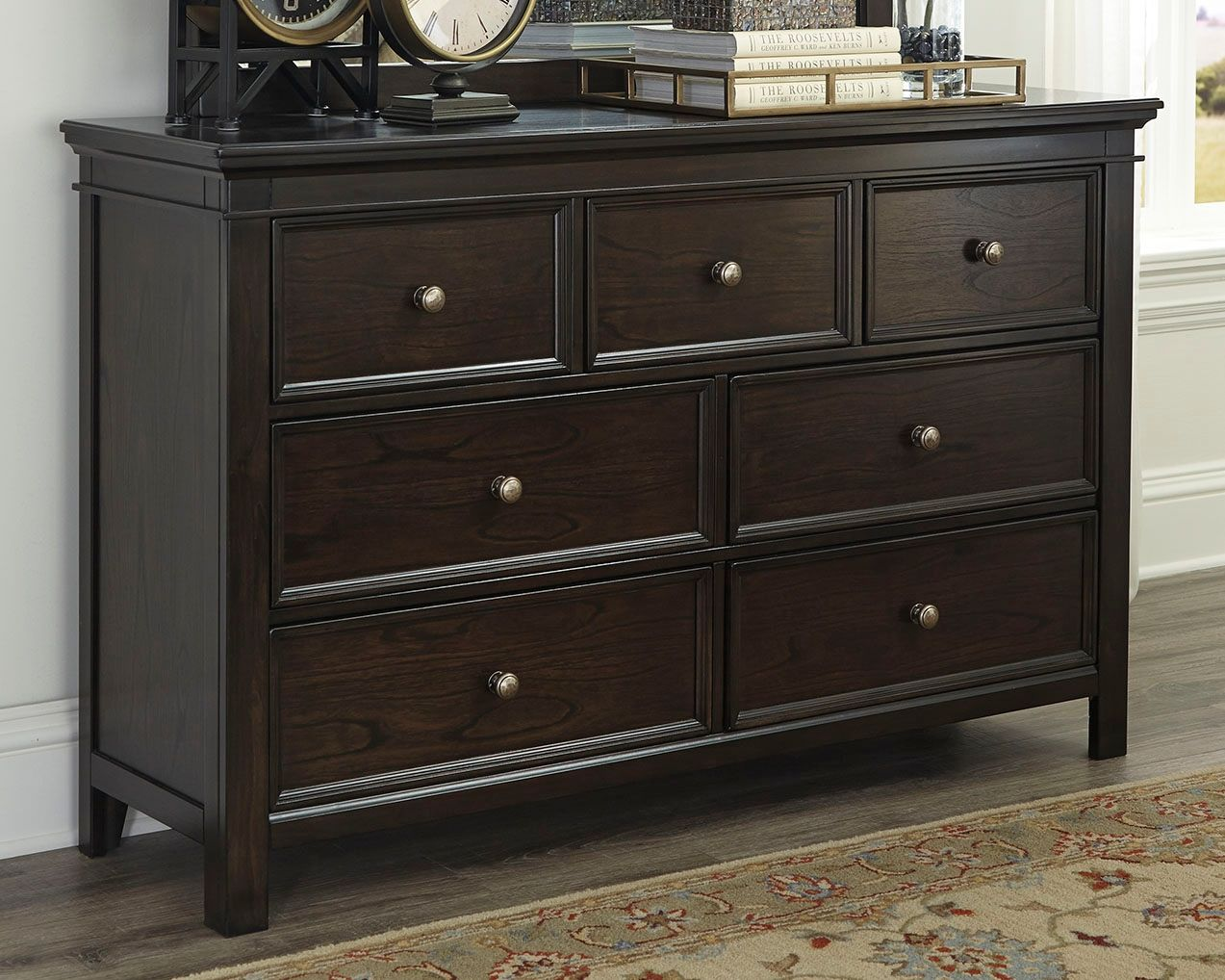 low priced 4d032 988c2 Alexee Dresser, Dark Brown | Products in 2019 | Shabby chic ...