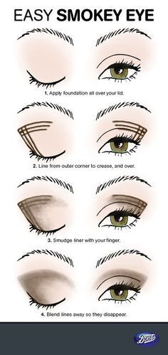 39 smokey eyes tutorial schminken augen schminken pinterest auge kosmetik und schminke. Black Bedroom Furniture Sets. Home Design Ideas