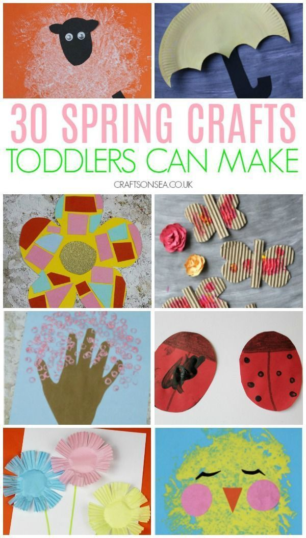 Photo of 30 Easy and Fun Spring Crafts for Toddlers