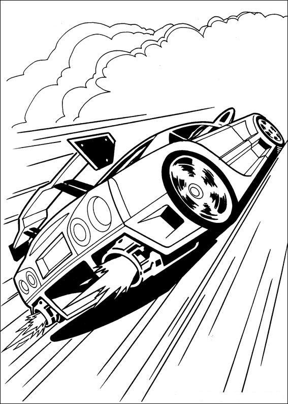 Hot Wheels Ausmalbilder 4 Drawing For Boys Coloring Pages