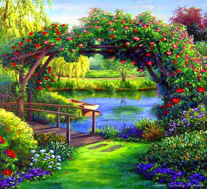 Garden Of Eden Landscape: Pin By Gloria Peters On Paradise To Come!