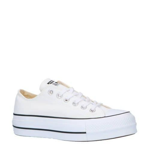 Chuck Taylor All Star Lift OX sneakers wit/zwart | Converse ...