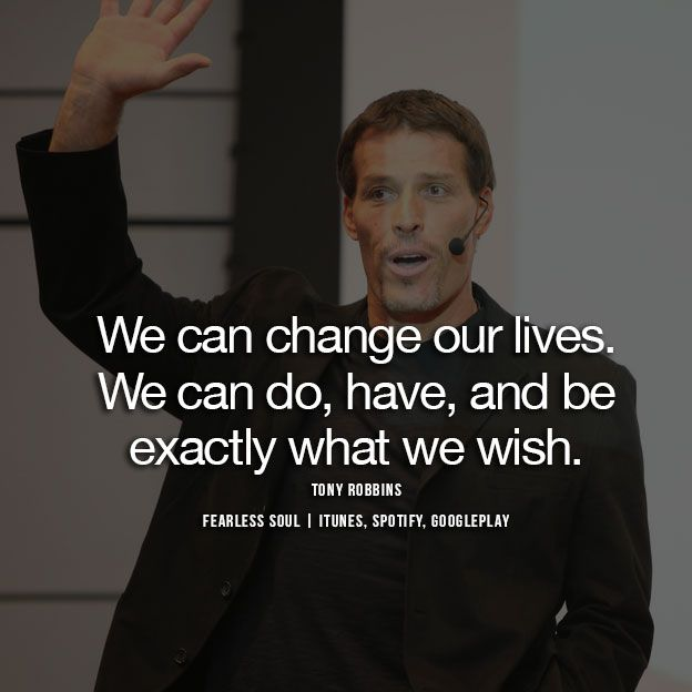 Anthony Robbins Quotes: Tony Robbins Quotes & Inspiration