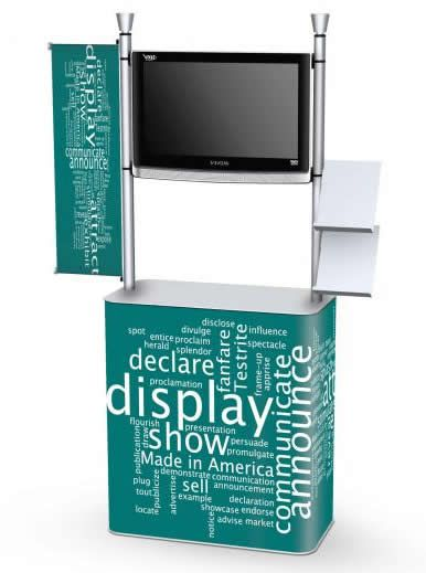 Creo Demo Tables Camelback Displays Inc Brochure Display Display Simple Tv Stand