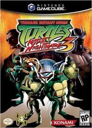 Teenage Mutant Ninja Turtles 3 Mutant Nightmare Gamecube Game Ninja Turtles 2 Ninja Turtles Teenage Mutant Ninja Turtles