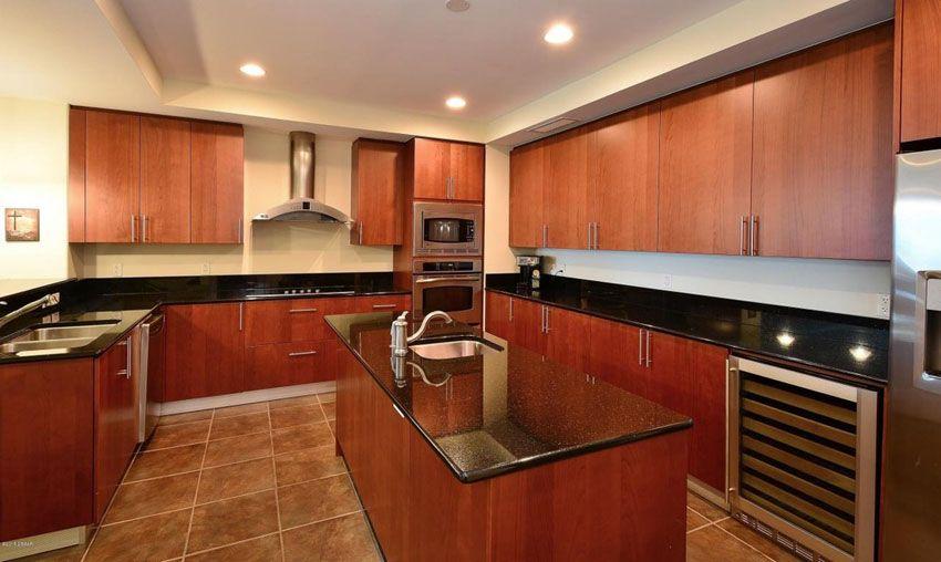 23 Cherry Wood Kitchens Cabinet Designs & Ideas  Cherry Pleasing Cabinet Design Kitchen Decorating Inspiration