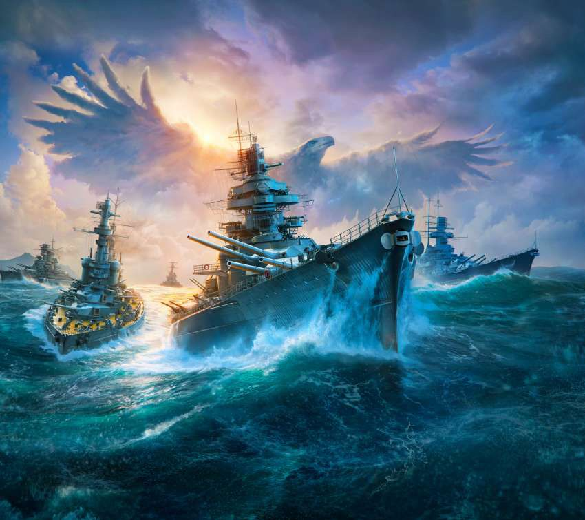 Pin By Steve On World Of Warships World Of Warships Wallpaper