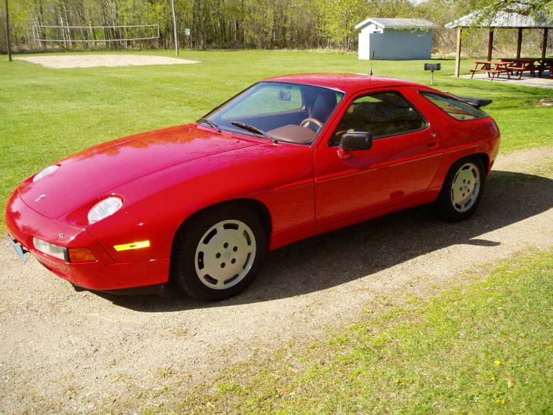 1980-1989 Porsche 928. It was designed in 1977 and continued throughout the entire decade of the 1980's. The Porsche 928 was not only a first for Porsche utilizing a front mounted water-cooled V8 engine, but it was also a first for the industry, setting a new standard in what a serious sports car should be. It had everything! In fact, so much so, that it saw few changes throughout the 80's as it waited for the rest of the industry to catch up to it!