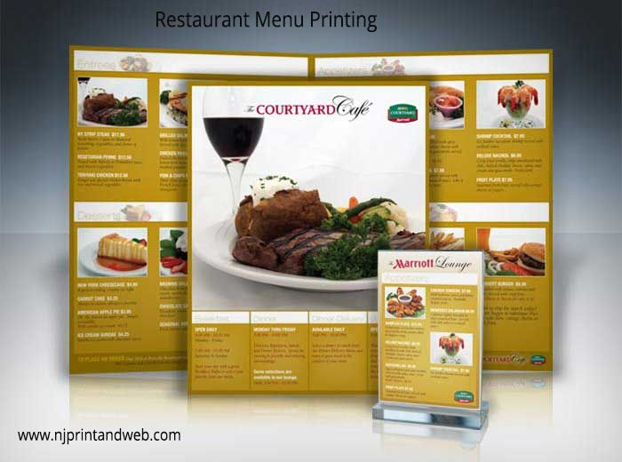 Restaurant Menu Card Printing Services Directory of service ...