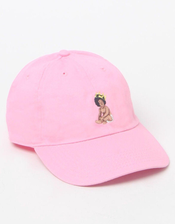 Pink biggie dad hat by dayoneluxury on Etsy  10f83c937ff