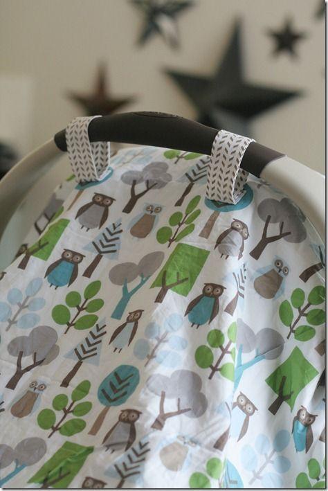 car seat blanket tutorial. | Sewing Projects | Pinterest | Nähen ...