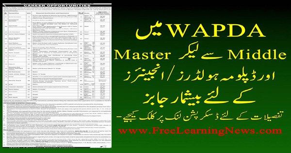 WAPDA Jobs 2017, IESCO Jobs 2017 NTS Job Application FormSee More - employment application forms