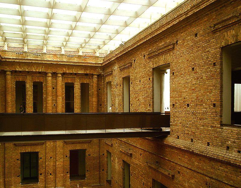 Pinacoteca do Estado de São Paulo, Brasil - interiores - Paulo Mendes da Rocha - Wikipedia, the free encyclopedia