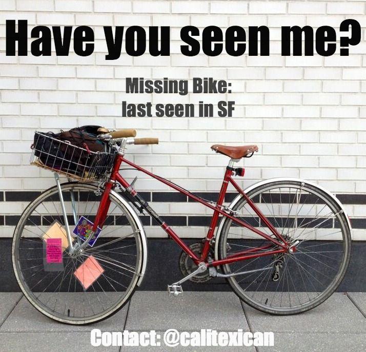 Looking For Calitexican Ctx Ctx Ctx S Stolen Bike Please Repost