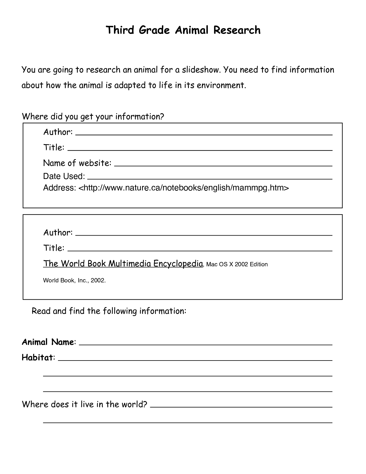 This Is A Sample Template That My Children Will Use To Help Guide