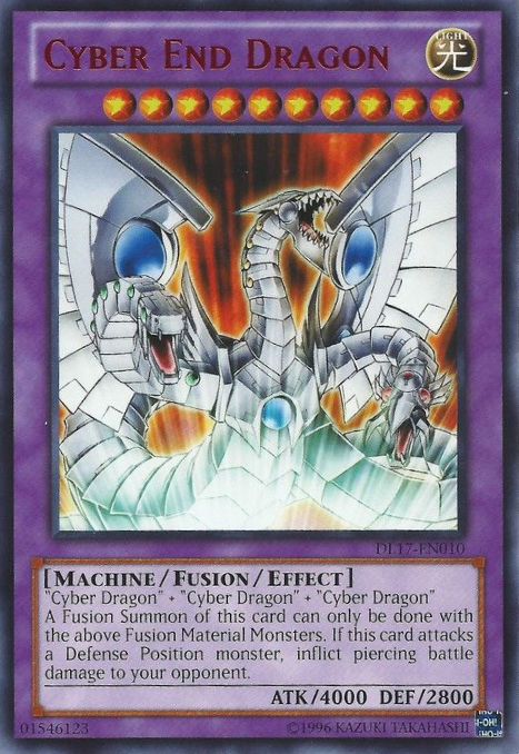 Cyber End Dragon Monster Cards Yugioh Dragons Cards
