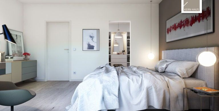 Futura Bauhaus von KernHaus Moderne Außengestaltung in