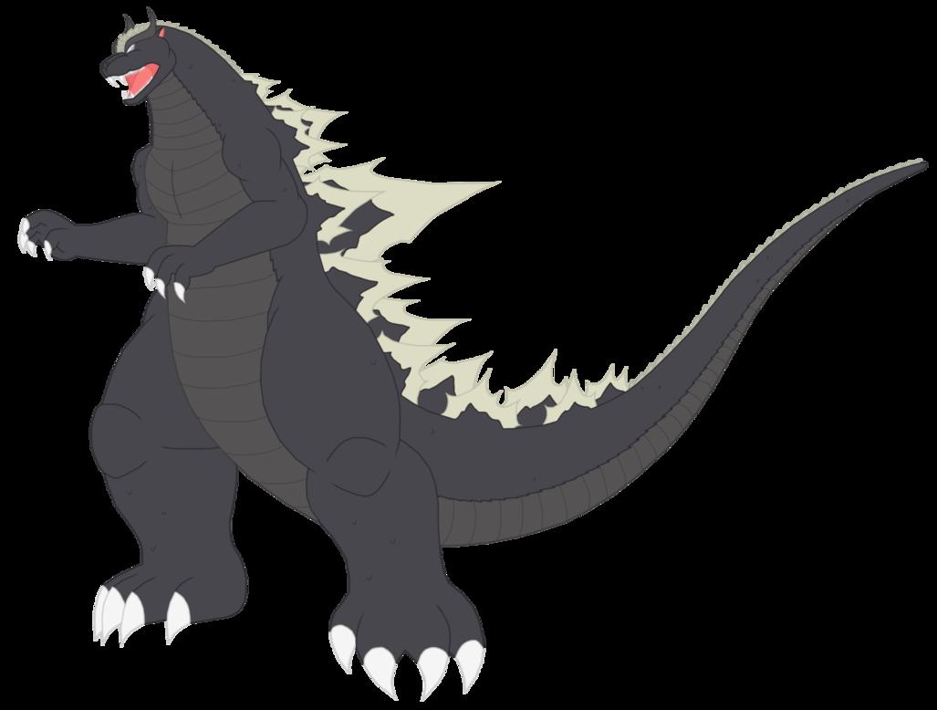 Ghost Godzilla By Https Www Deviantart Com Pyrus Leonidas On Deviantart Kaiju Design Godzilla Kaiju Monsters