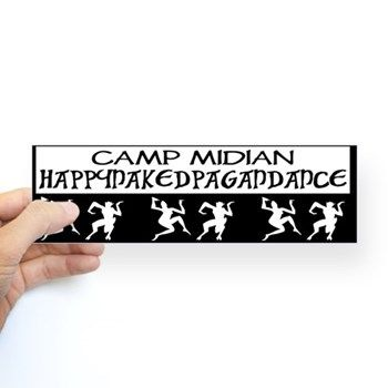 Pagan dance bumper sticker