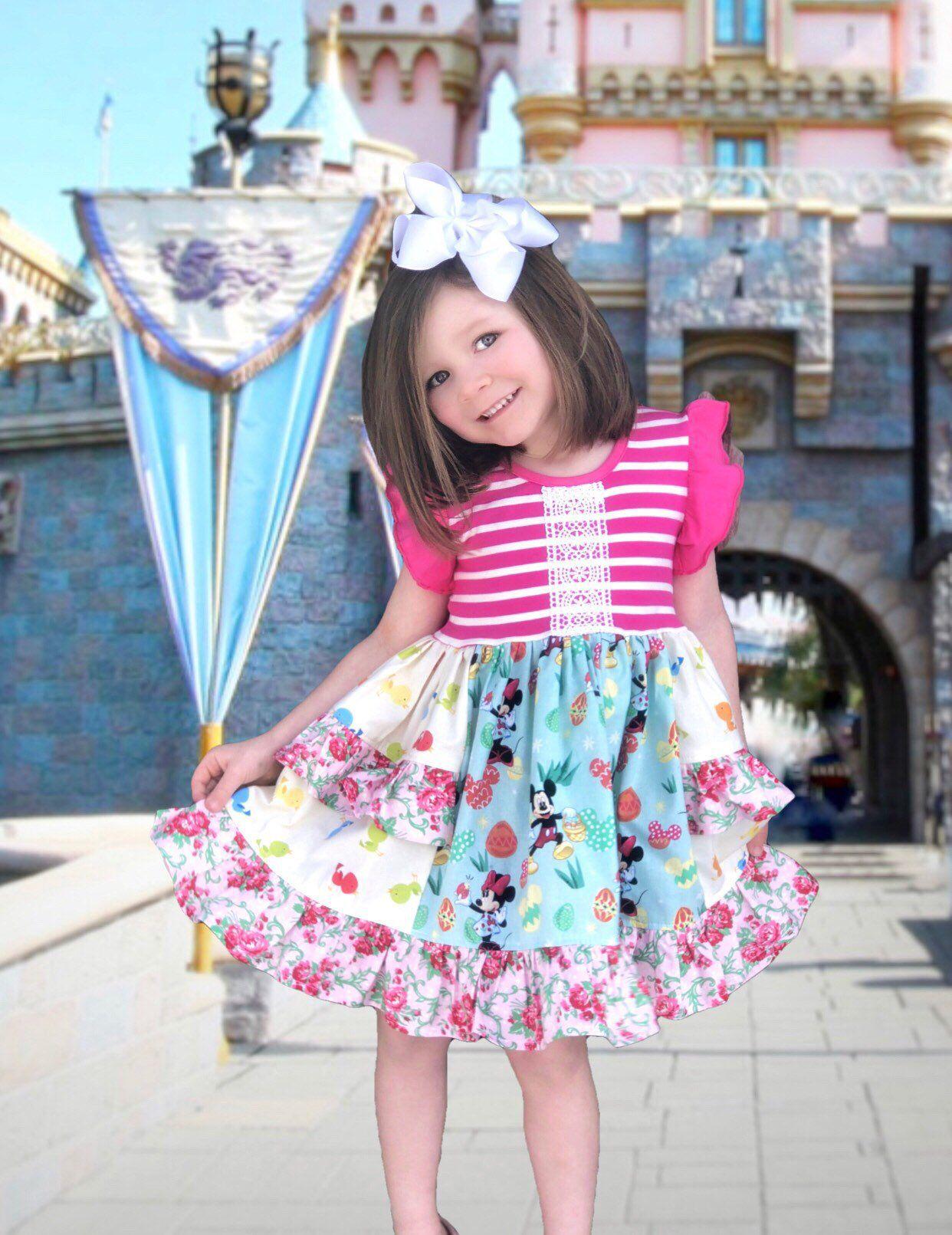 Disney easter dress, girls Easter dresses, Disney outfit