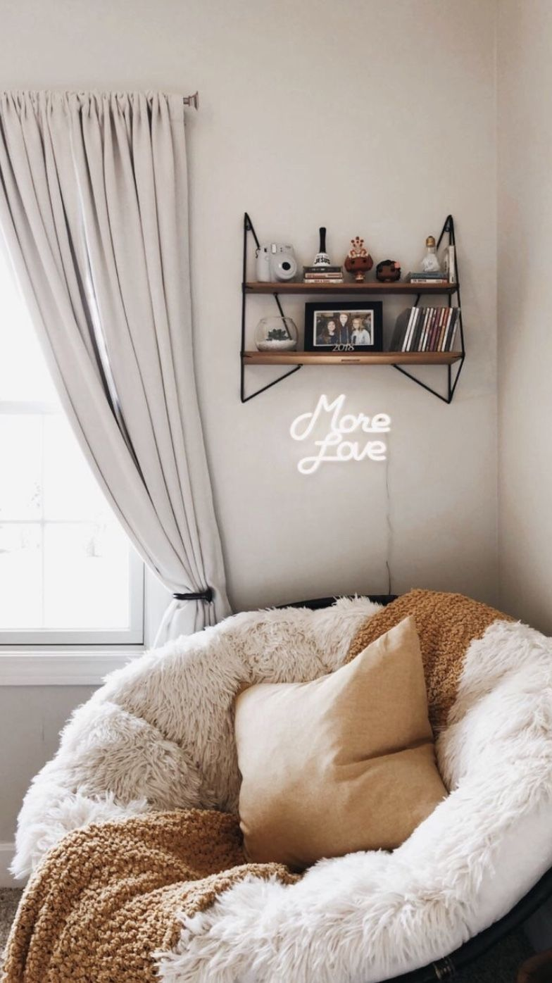 Bedroom Decor Without Bed Bedroom Decor Minimalist Ideas For Bedroom Decor Pinterest Bedroom Decor Des Room Ideas Bedroom Aesthetic Bedroom Cute Room Decor