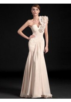 Trumpet/Mermaid One Shoulder Sleeveless Floor-length Chiffon Evening Dress #FC651 - See more at: http://www.beckydress.com/prom-dresses/2014-prom-season.html?p=13#sthash.yybqzoD8.dpuf