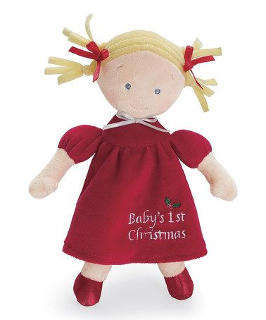 Take a look at this Blonde Little Princess™ Christmas Doll by North American Bear Co. on #zulily today! $8 !!