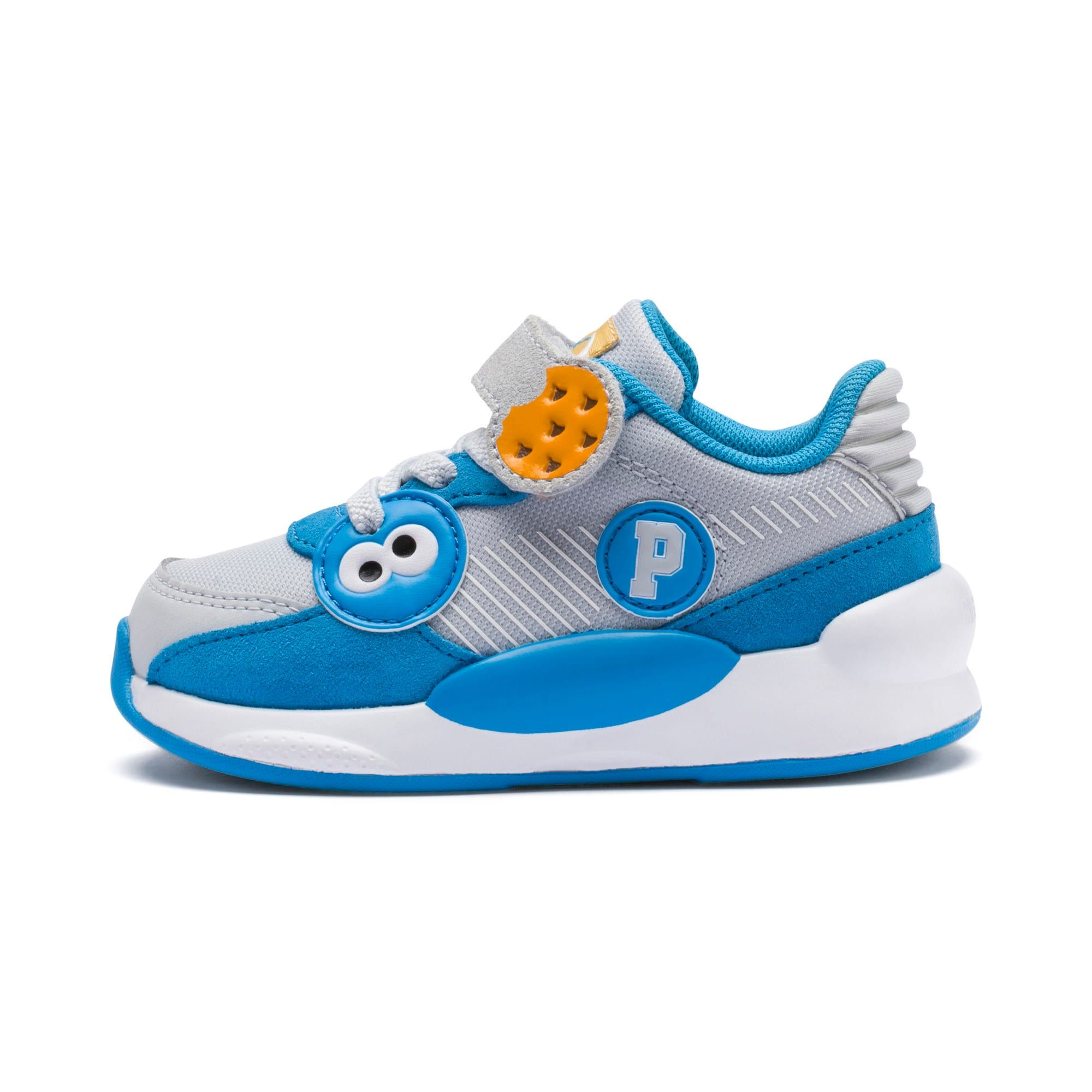 PUMA Sesame Street 50 RS 9.8 Babies' Trainers in Grey Dawn/Azure size 4.5 #minimomentcelebrations