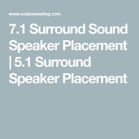 surround sound speaker placement also rh in pinterest