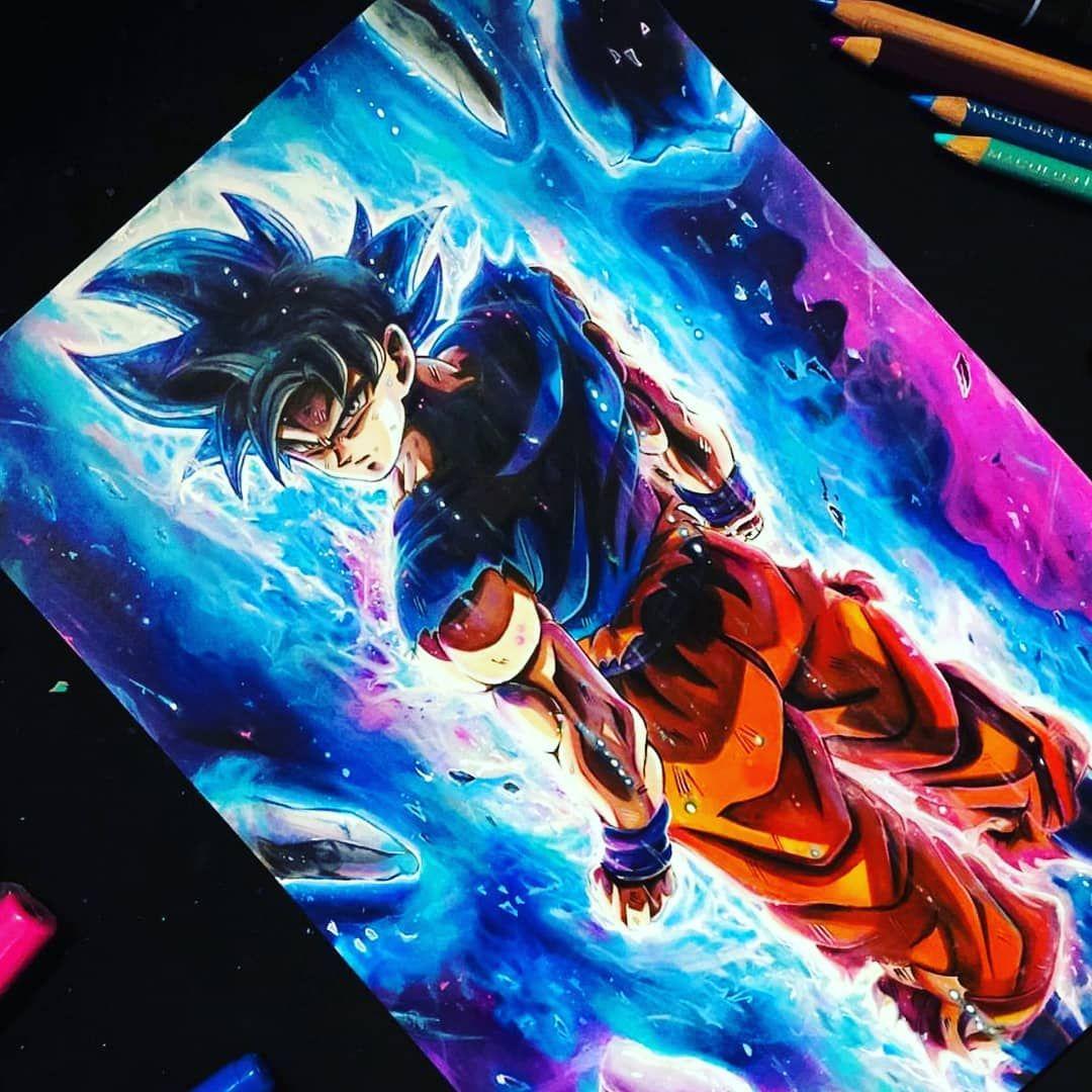Pin Op Son Goku