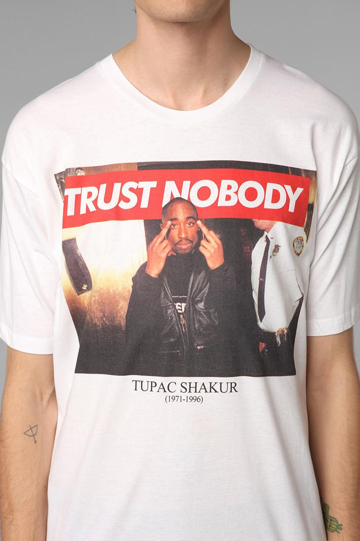 b6fdd9e566b88 Tupac Trust Nobody Tee urban outfitters