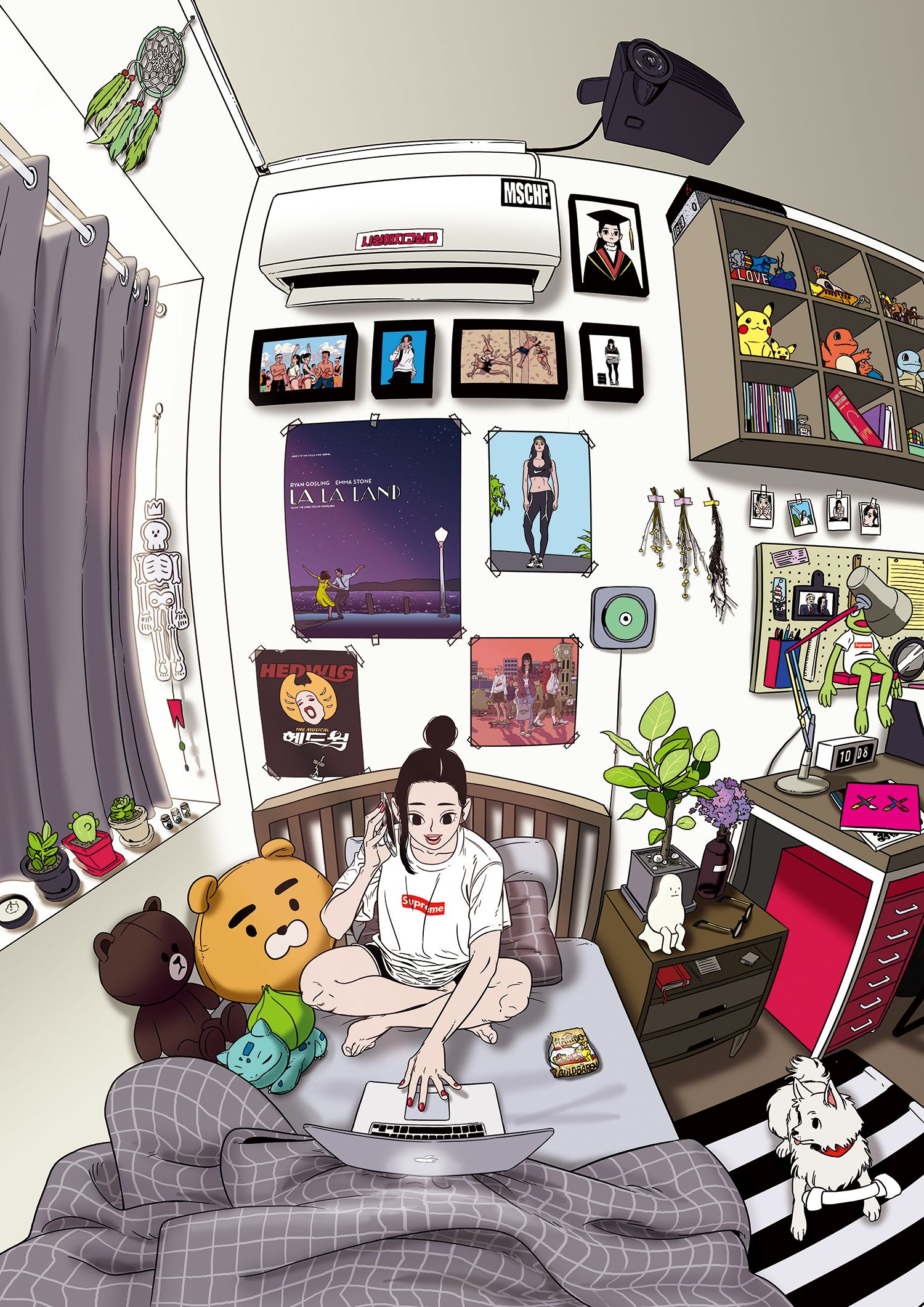 Cute Girly Wallpaper For Bedroom My Personal Work Sneakers Pinterest Anime