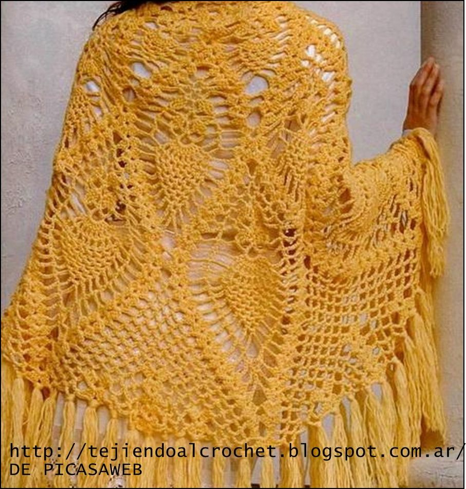 CROCHET - GANCHILLO - PATRONES - GRAFICOS | Beautiful lace shawls ...