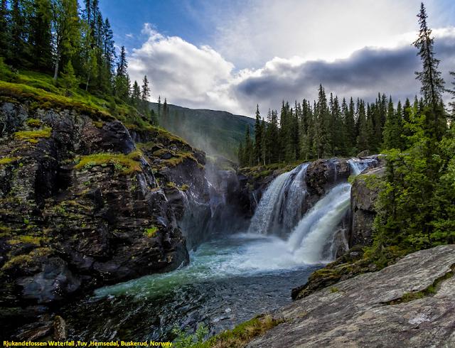 Rjukandefossen Waterfall ,Buskerud, Norway - Cruze