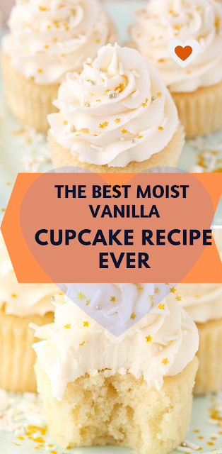 THE BEST MOIST VANILLA CUPCAKE RECIPE EVER (Yield: 25 Cupcakes) | Easy Recipes #cupcakecakes