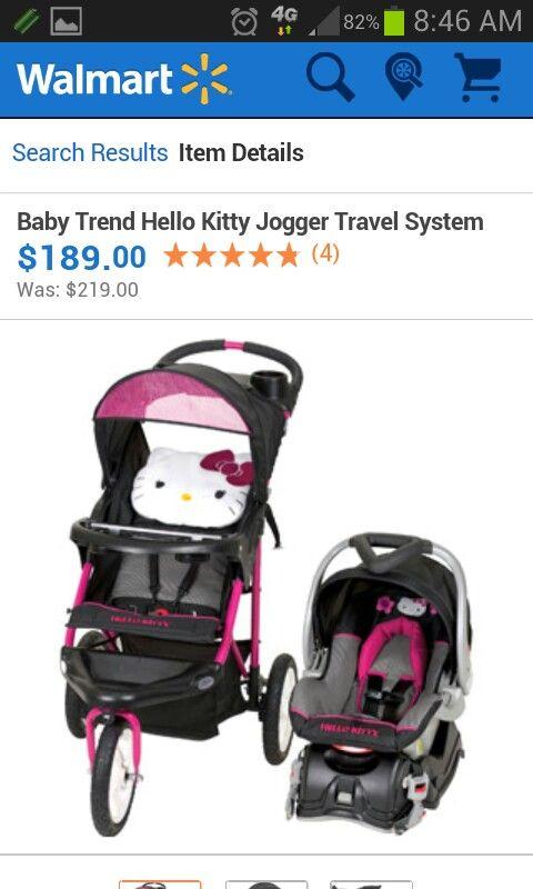 Hellokitty Stroller Set Baby Hello Kitty Baby Shower