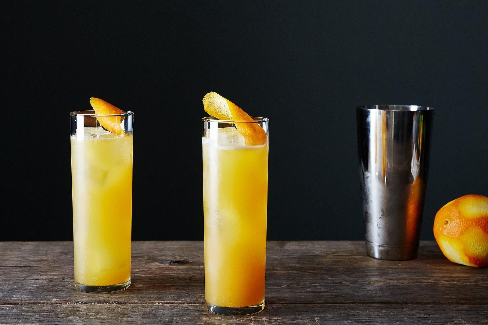 This is what happens to a classic brunch cocktail (the mimosa) when it goes to Italy (a beermosa!).