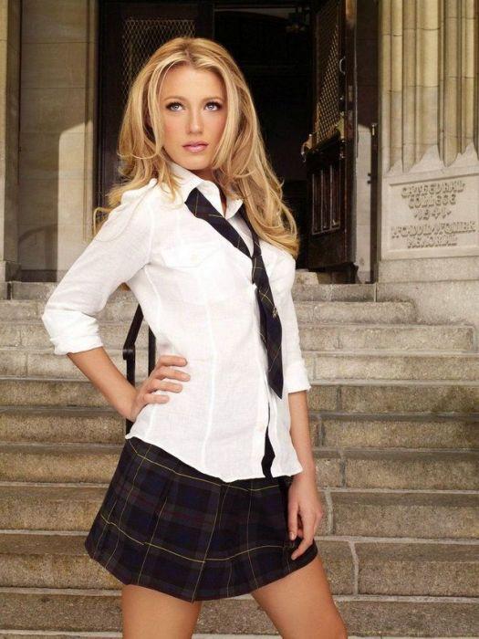 I Love Exploring My Dress Uniform In My School